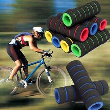 1 Pair MTB Mountain Bicycle Bike Handle Handlebar Sponge Soft Bar End Grips