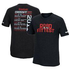 "Reebok CrossFit 2011 ""Road to the Fittest"" Men's Black Tri-Blend Premium T-Shirt"