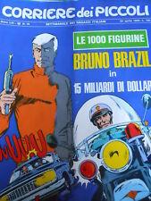 Corriere dei Piccoli 16 1969 I Puffi + figurine