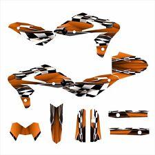 SM 610 Husqvarna graphics 2005 - 2010 Husky decal kit NO2500 Orange