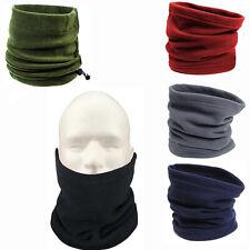 Donna Ragazze Donna Scalacollo Sciarpa basso di lenza Nero//Rosa Caldo in Pile SCUOLA SCI