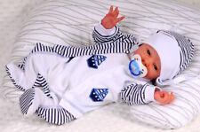 3Tlg Baby 100/% Baumwolle TOP 3-er SET Rosa Elefanten gr 56 62 68 74 Englandmode