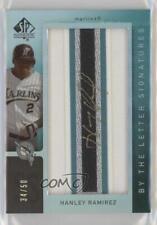 2007 #BL-33.2 Hanley Ramirez (Letter I) Miami Marlins Auto Baseball Card