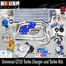Universal GT35 Turbo Kits 0.70A/R Ford F150 F250 F350 Quick Spooling NEW@@