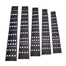 1/8-4/4 Violin Intonation Stickers Fretboard Marker Beginners Learningrm