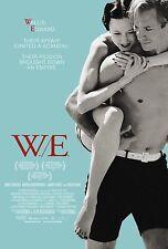 W.E. Madonna LOCANDINA A4 A3 A2 A1 cinema film di grande formato ci