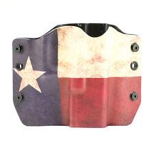 OWB Kydex Gun Holsters, Texas for Glock Handguns