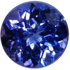 Natural Fine Blue Purple Tanzanite - Round - Tanzania - AAA Grade