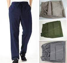100% Cotton Kung Fu Tai chi Wu shu Martial Arts Bruce Lee Coarse cloth Pants Men