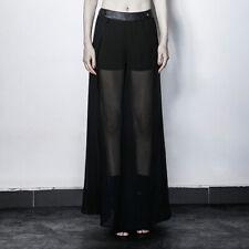 Punk Rave Lange Transparante Rok & Shorts Gothic Dark Boho Witch Nu Goth PK-098