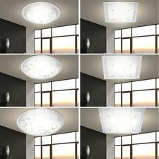 Decken Lampen Schlafzimmer Chrom Leuchten Flur Küchen Beleuchtung Glas Dekor E27