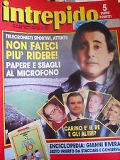 Intrepido 16 1988 Speciale telecronisti sportivi