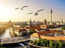 Fototapete Selbstklebend Berlin Möwen Panorama - Made in Germany - Bildtapete