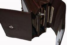 Damen Portemonnaie Geldbörse Geldbeutel, S512LJ, Echt Leder, 17 x 9 x 3