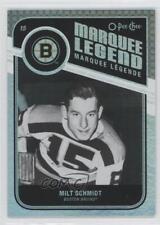 2011-12 O-Pee-Chee Rainbow Foil #549 Milt Schmidt Boston Bruins Hockey Card