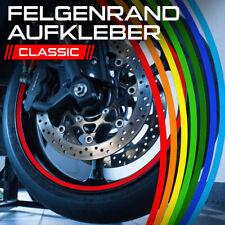 Felgenrandaufkleber Felgenaufkleber Auto Motorrad Wohnmobil Wohnwagen Grün Gelb