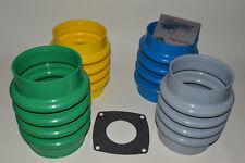 Faltenbalg passend  Wacker BS62Y + BS65Y 4 mögliche Farben inkl. Papierdichtung
