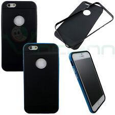 """Pellicola+Custodia BUMPER chiuso bordo pr iPhone 6 4.7"""" 6S cover case protezione"""
