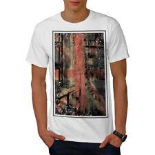 Wellcoda London City England Mens T-shirt, Capital Graphic Design Printed Tee