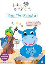 Baby Einstein : Meet the Orchestra - First Instruments (DVD, NEW)  Disney
