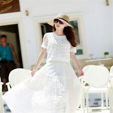 Women's Floppy Straw Hat Wide Large Brim Sun Cap Wedding Beach Bow Hats