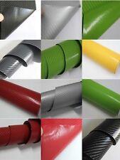 4d BRILLO fibra de carbono con textura COCHE Envolvente Lámina Vinilo pegatina