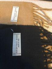 2 Set Geoffrey Beene Solid Scarf Unisex 100% Arcrylic Winter Warm Fashion Gift