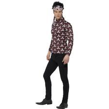 Men's Derek Zoolander Fancy Dress Costume Top Bandana Hair Movie TV Stag Night