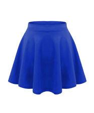 ROYAL BLUE Circular Skirt AGE 2-4 Girls SHINY Nylon Lycra DANCE Short Ballet Tap