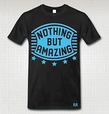 """NOTHING BUT AMAZING"" T-Shirt to Match Retro 12 ""GAMMA BLUE"""