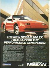 1986 NISSAN 300XZ ***ORIGINAL AD*** PERFORMANCE