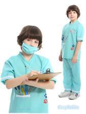 M4-3 Child Nurse Doctor Boys Hospital Vet Book Week Kids Occupation Outfit