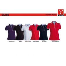 Polo LEEDS LADY Payper donna manica corta  con dettagli in contrasto jersey 175g