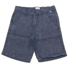 9406S bermuda bimbo jeans puro lino IL GUFO short pant kid