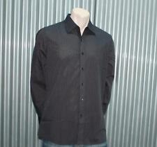 Sovereign Code Striped Shirt Black & Gray  S M L XL XXL