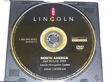 Lincoln Navigator LS Towncar OEM factory GPS Navigation DVD Map Disc Release '03