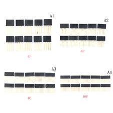 10pcs 2.54 mm Stackable Long Legs Femal Header For Arduino Shield BDAU