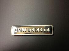 Original BMW Schriftzug Individual neu