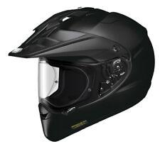 Shoei Hornet Adv Motorcycle Motocross Helmet Off Road Plain Gloss Black Enduro