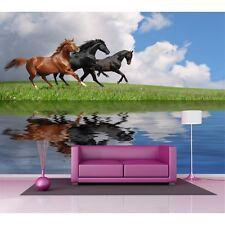 Sticker mural géant chevaux au galop 2,6 x3,6 m 305