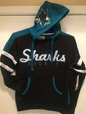 San Jose SHARKS Ladies Pull over Hoodie by G-III Carl Banks - NHL Licensed