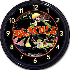 Count Dracula Bela Lugosi Bram Stoker Gothic Vampire Movie Wall Clock Classic