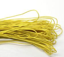 Großverkauf Gelb Wax Wachs String/Schnur/Garn für Halskette/Armband 1mm