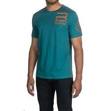 Buffalo David Bitton Men's Crew Neck T Shirt Medium Large XL Blue Totem Nilmad
