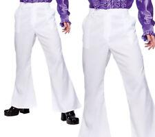 adulto L AÑOS 70 AÑOS 80 Disco noche Fever Acampanados Pantalones Disfraz