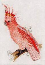 Leadbeaters Cockatoo counted cross stitch kit/chart 14s aida
