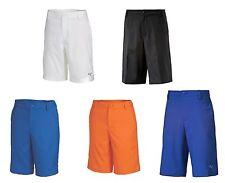 PUMA Golf Rickie Fowler Jr Children Youth Kids Boys Golf Tech Shorts Blue Orange