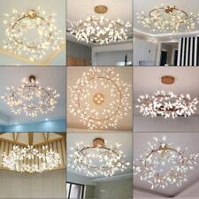 D80/98/109cm LED Chandelier Plant O Shape Lights Modern Pendant Lamp warm/cool