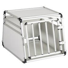 Hundebox Alubox Autotransportbox Hund Transportbox Gitterbox Reisebox Alu EHT434