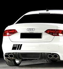 Audi A3 A4 A5 A6 A8 S4 S5 S6 RS4 Q7 TT S-Line Decal sticker emblem logo BLACK